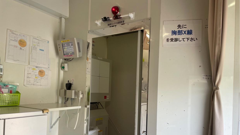 胸部X線検査デジタル撮影機材